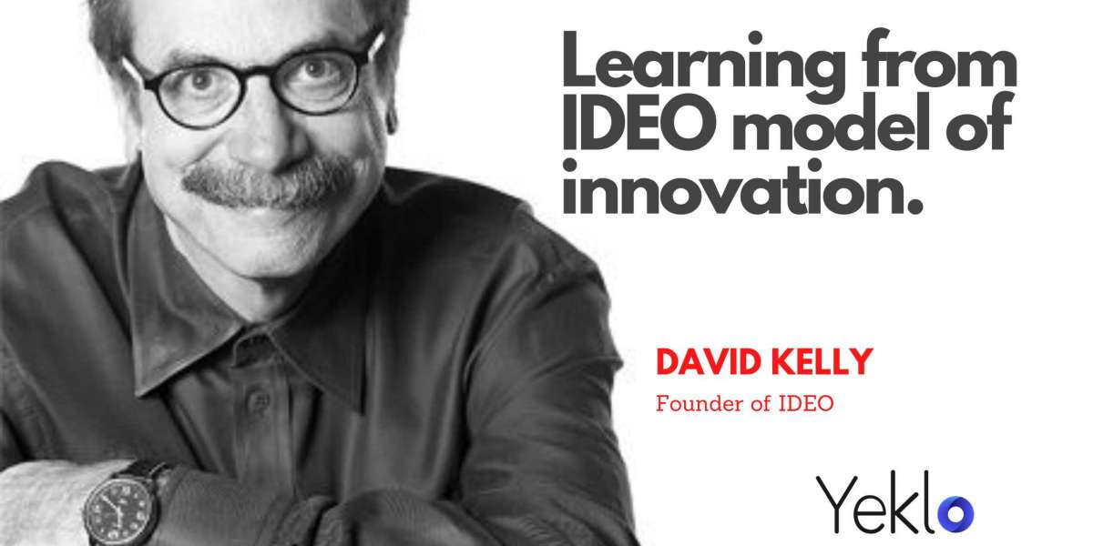 Learning from IDEO model of innovation.