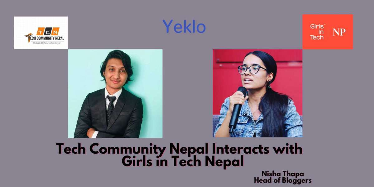 Tech Community Nepal Interacts with Girl in Tech Nepal (GIT NP)