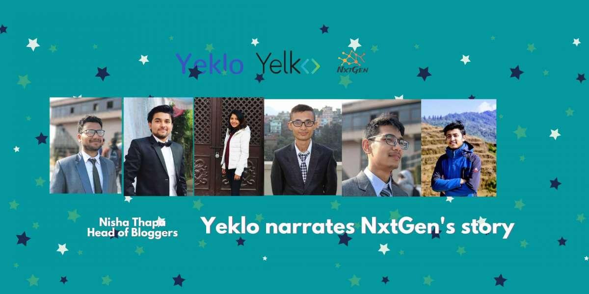 Yeklo narrates NxtGen's Story.